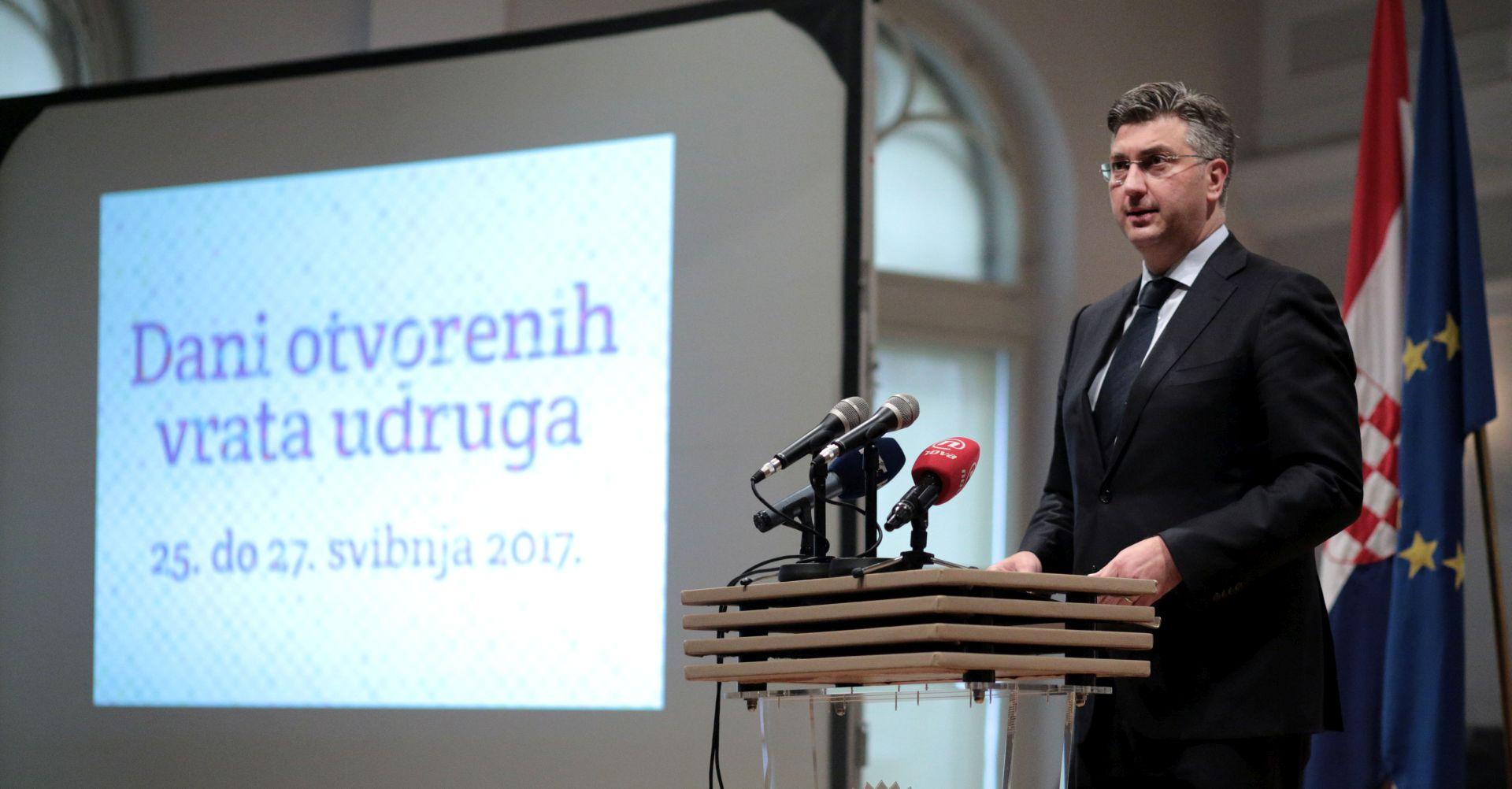 PLENKOVIĆ 'Vlada potiče i rad udruga i volonterstvo'