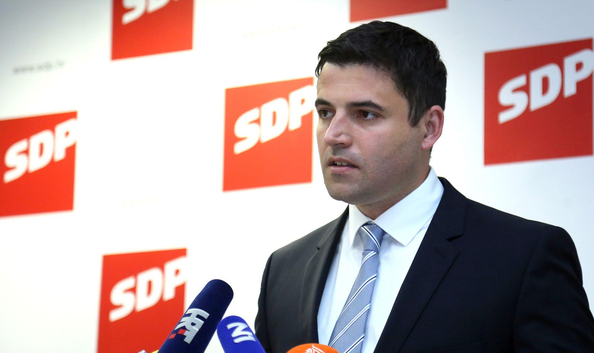 SDP-ovo predsjedništvo dalo punu potporu stranačkim kandidatima u drugom krugu