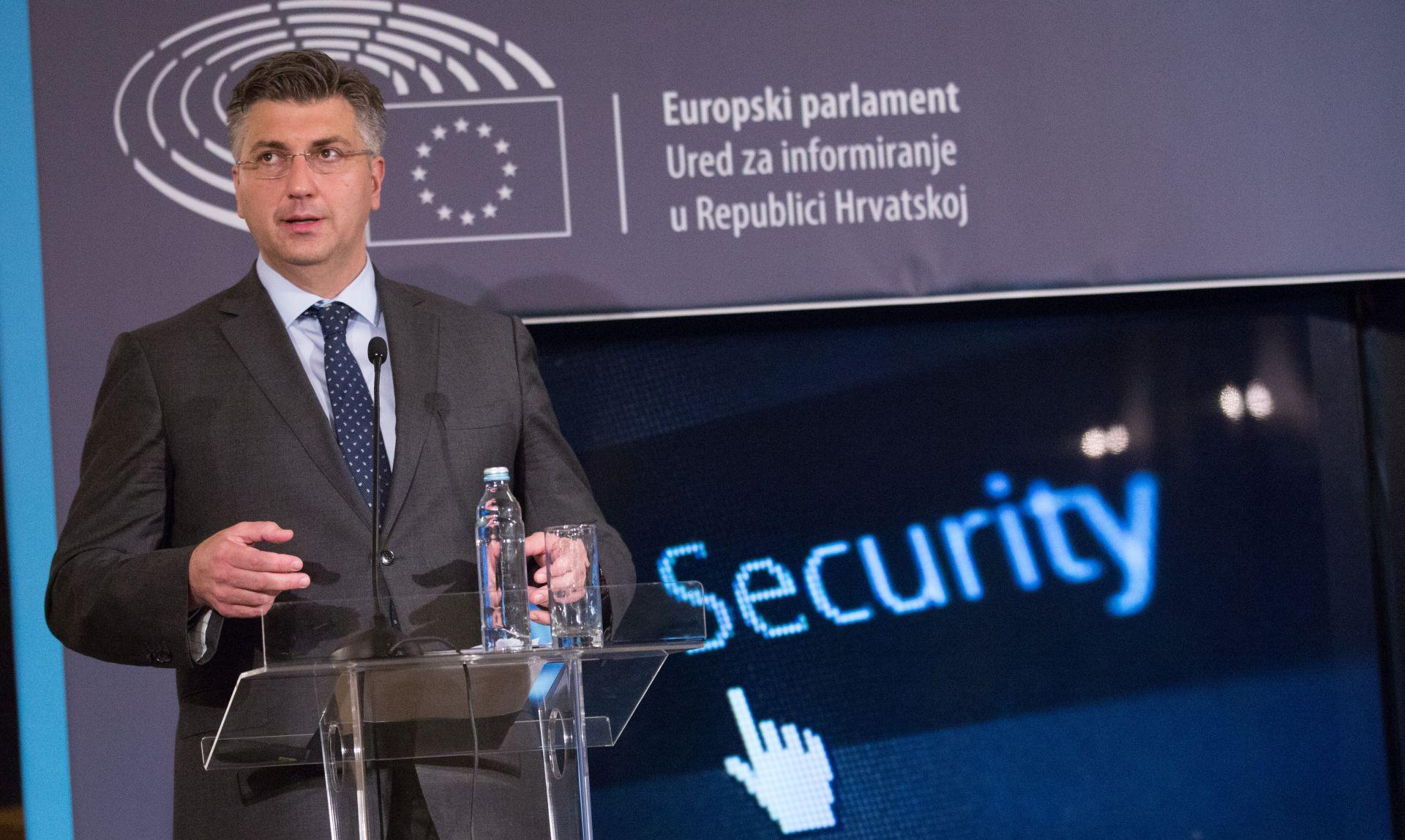 PLENKOVIĆ 'Prijetnja terorizma je realnost Europe'