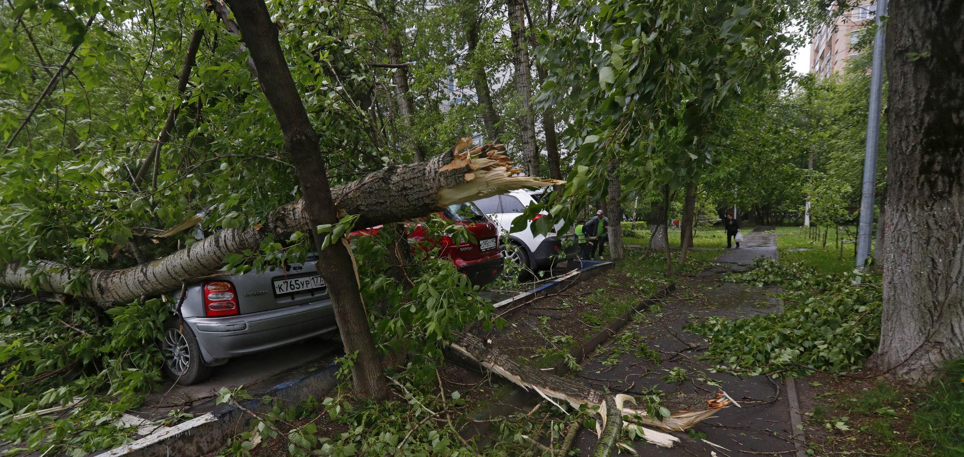 Zbog jakog vjetra u Moskvi šest poginulih