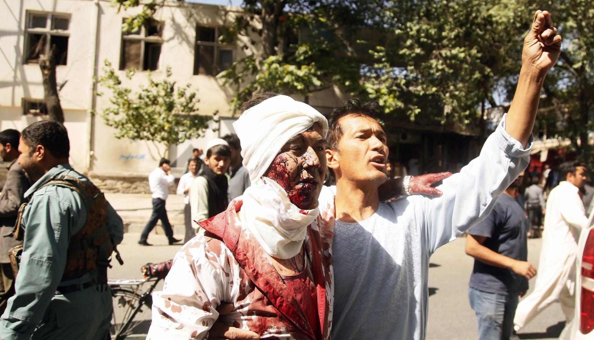 U snažnoj eksploziji u Kabulu 40 mrtvih ili ozlijeđenih
