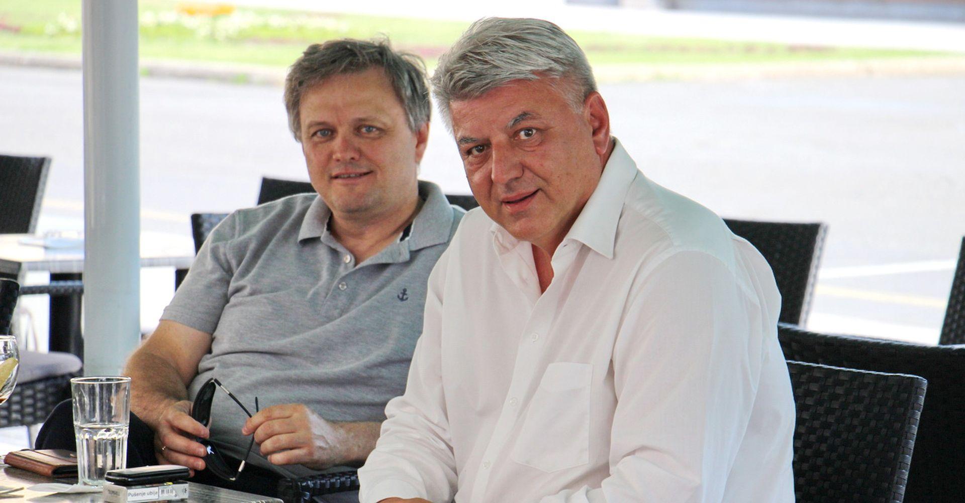 Komadina na kavi sa Zvonimirom Mršićem, On je potreban Savjetu za gospodarstvo SDP-a