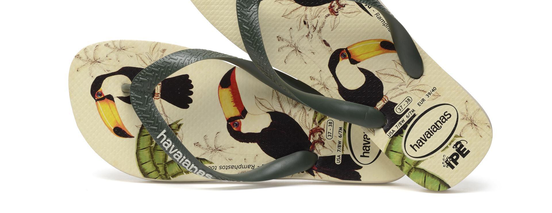 Havaianas IPE kolekcija – japanke s printevima divljih vrsta u misiji očuvanja biološke raznolikosti Brazila