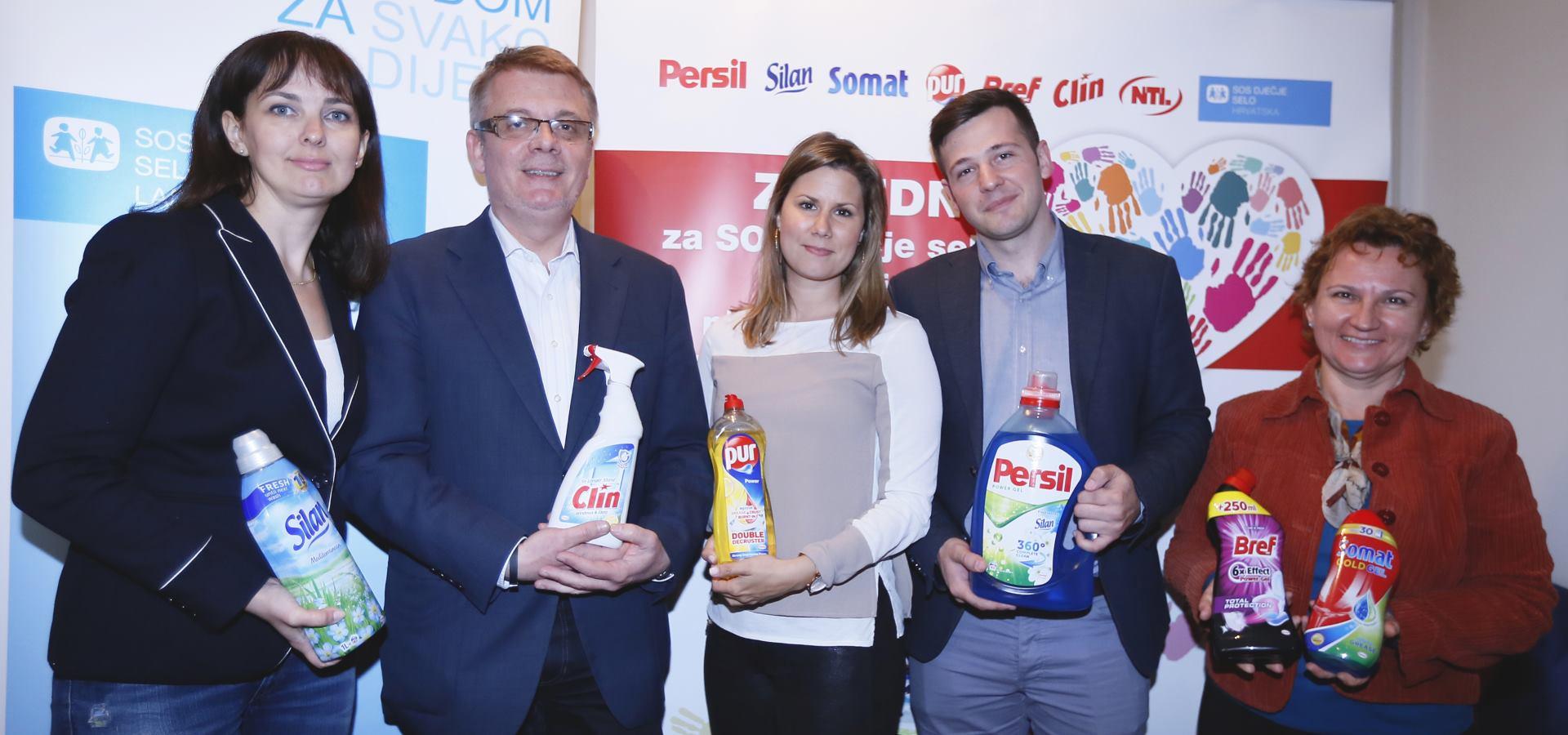 Tvrtke Henkel i NTL uručile donaciju SOS Dječjem selu Ladimirevci