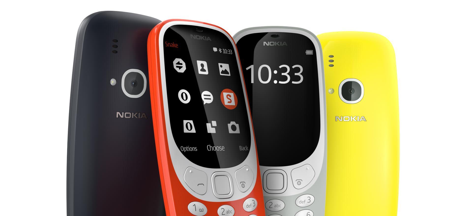 HMD GLOBAL Nova Nokia 3310 dostupna početkom lipnja