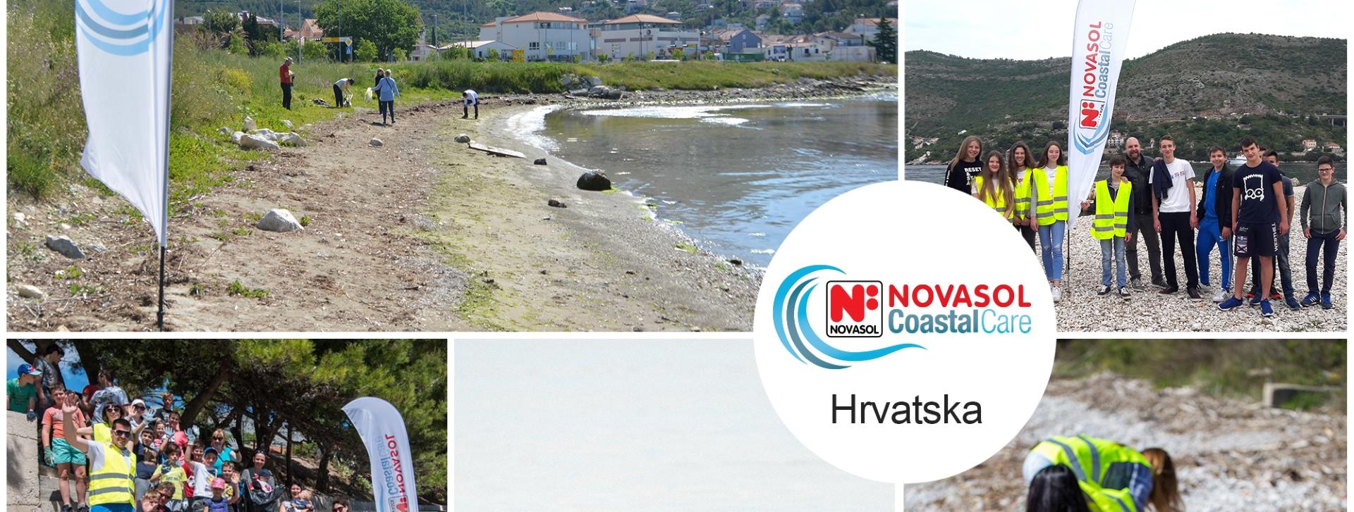 Rezultati akcije 'Očistimo obale s Novasolom 2017'