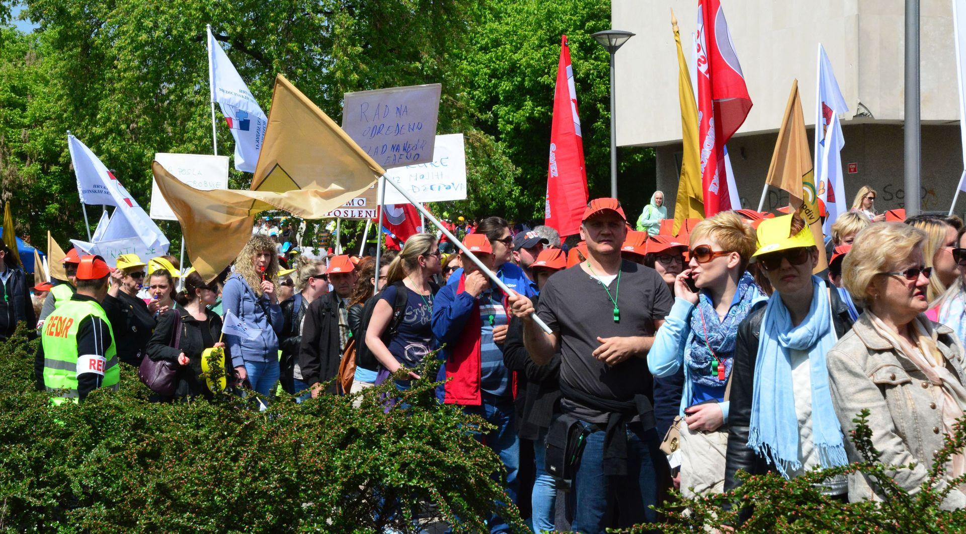 SLAVONSKI BROD Sindikati uputili Vladi zahtjev za većim plaćama