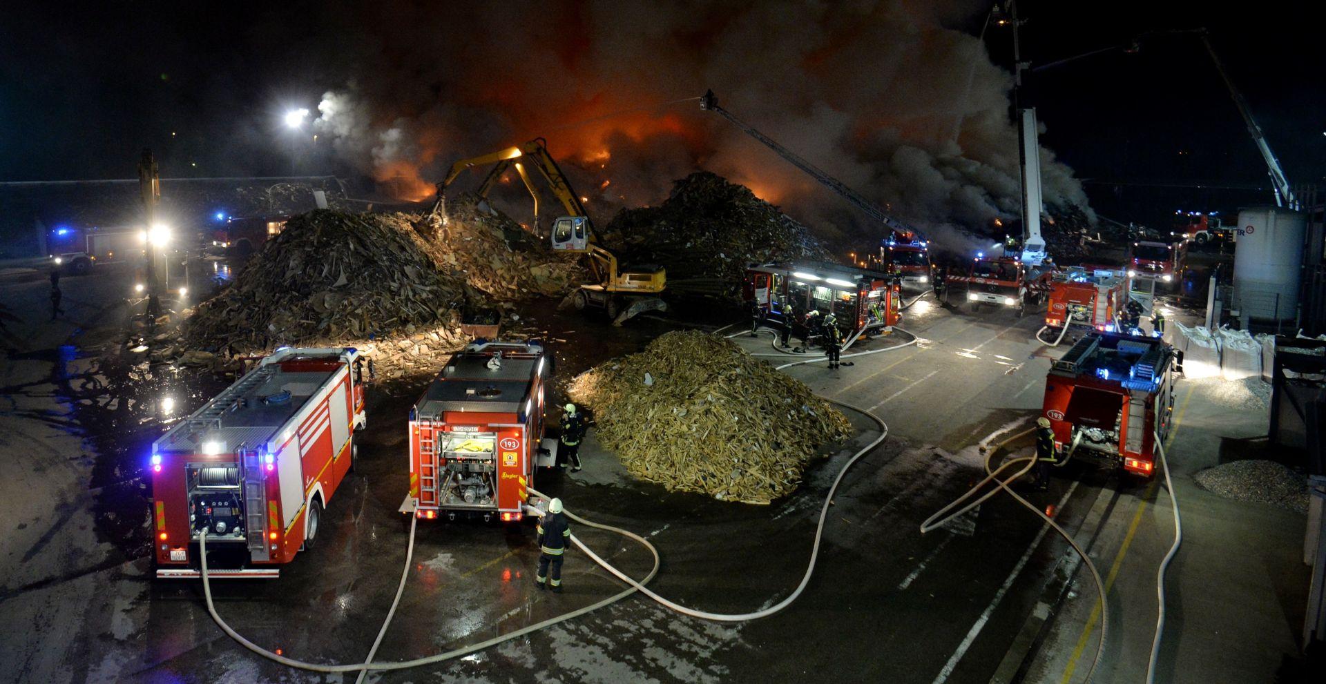 Požar u C.I.O.S-u pod kontrolom, možda je podmetnut