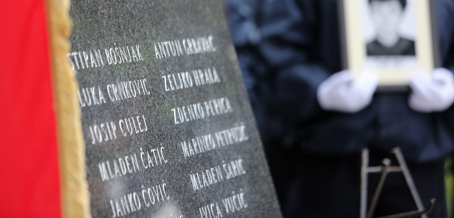 U Borovu počelo obilježavanje 26. obljetnice ubojstva 12 hrvatskih redarstvenika