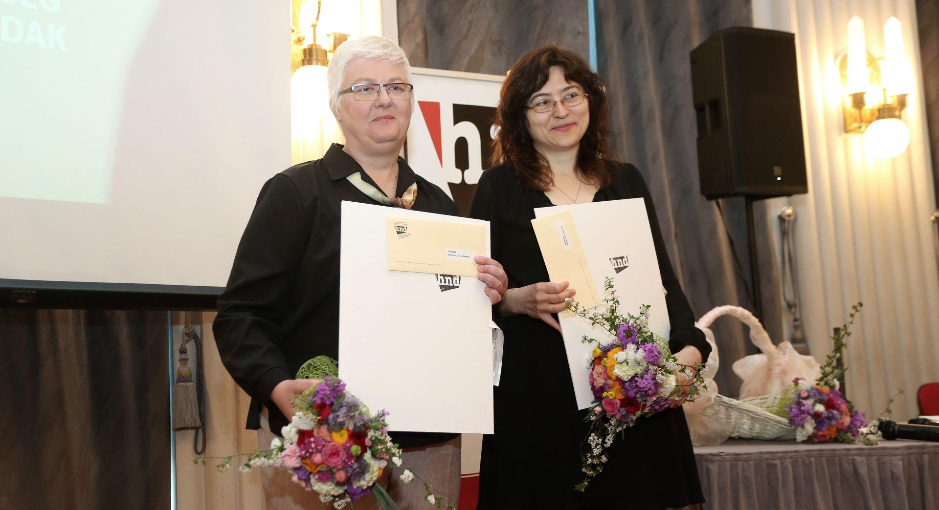 Novinarkama Nacionala Orhidei Gauri Hodak i Sandri Carić Herceg nagrada za istraživačko novinarstvo, Šprajc novinar godine