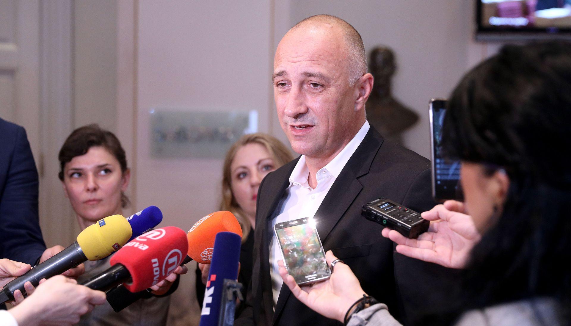 VRDOLJAK 'Iza Grmojine izjave o suradnji HNS-a i HDZ-a stoji Željka Markić'
