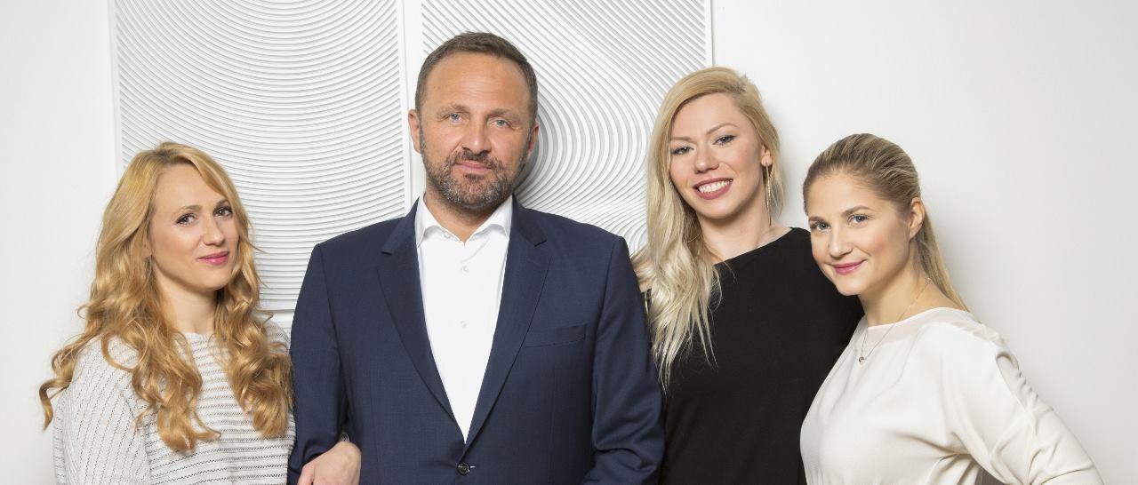 Jana Fabijanić, Carla Belovari i Neda Parmać Klačar isprobale nježni tretman za podočnjake u Poliklinici Milojević