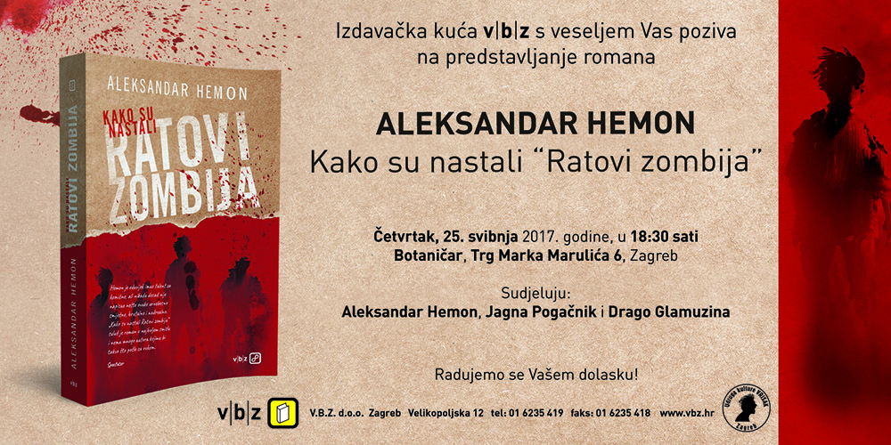 Predstavljanje novog romana Aleksandra Hemona