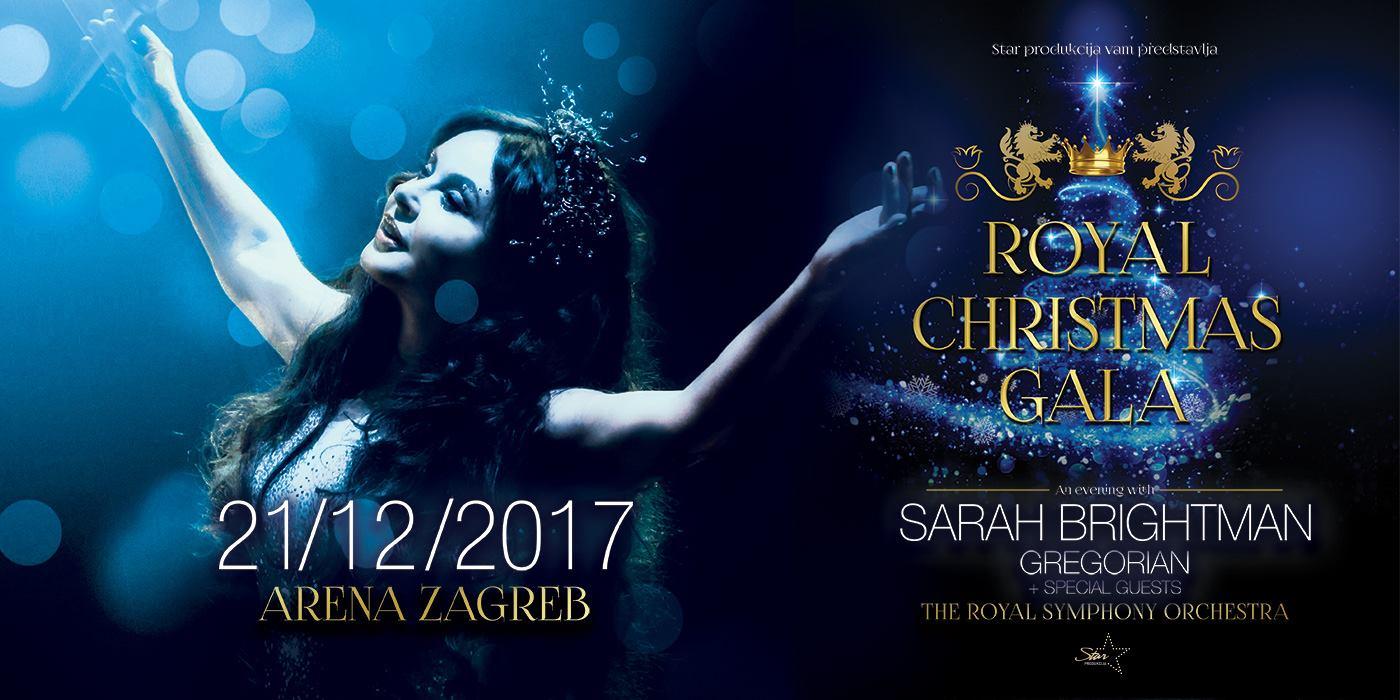 ROYAL CHRISTMAS GALA Sarah Brightman na posebnom koncertu u prosincu ove godine