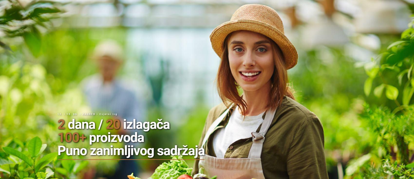 Sajam mladih poljoprivrednika održava se 12. i 13. svibnja na zagrebačkom Cvjetnom trgu