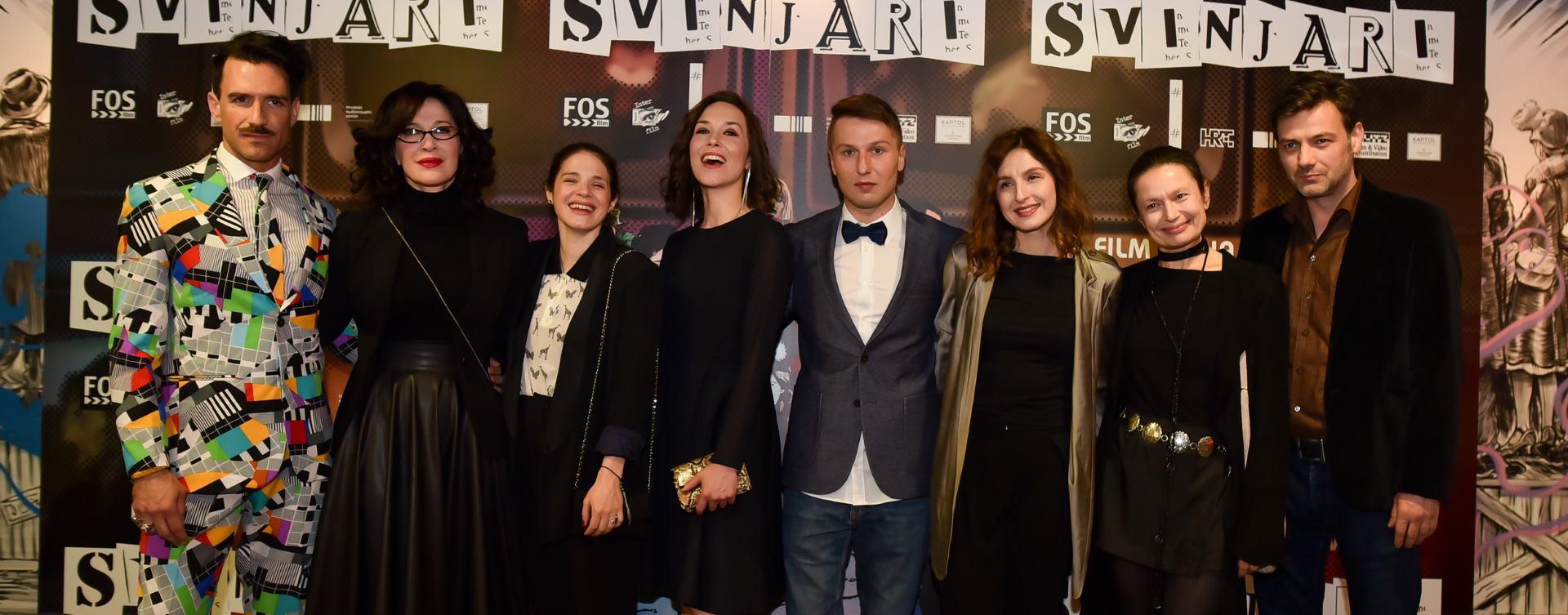 KAPTOL BOUTIQUE CINEMA Održana premijera kontroverznog filma 'Svinjari'