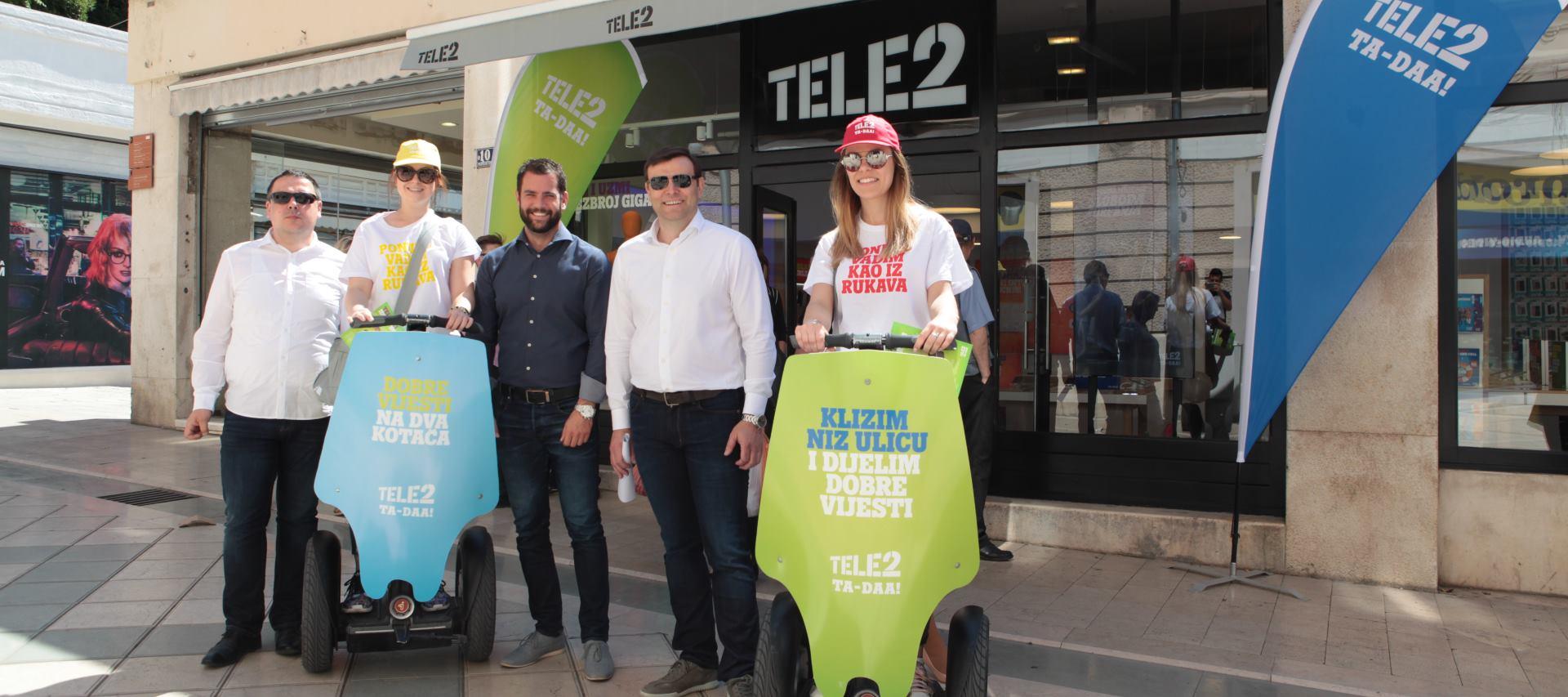 FOTO: Tele2 otvorio prvi experience centar u Gradu Splitu