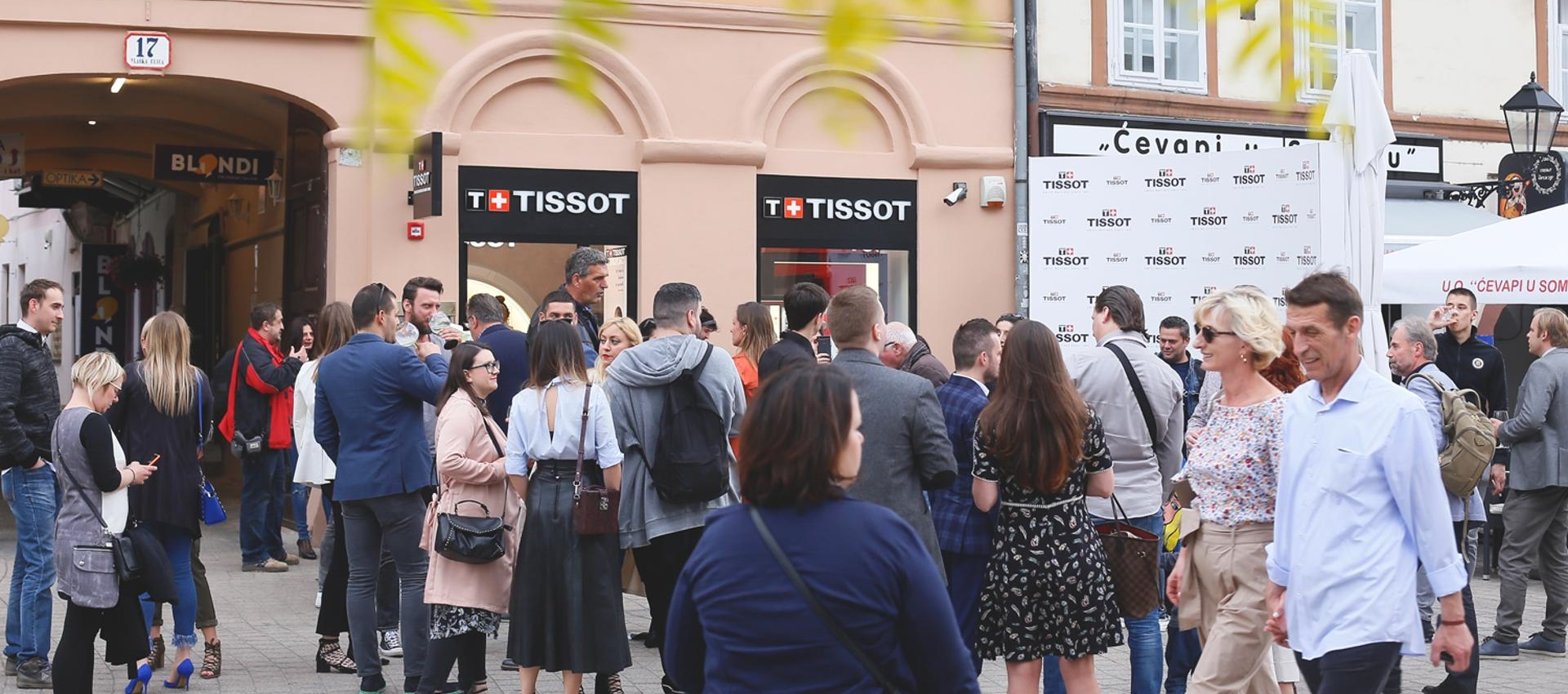 TISSOT BOUTIQUE Uz brojne poznate otvoren prodajni salon u centru Zagreba