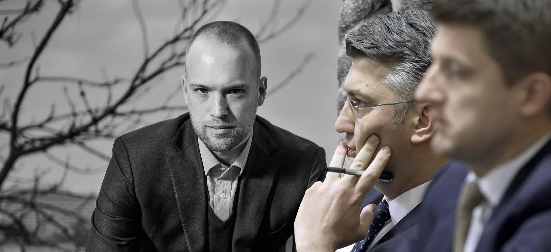 """BERNARDIĆ: """"Plenkovićevu koaliciju drži čovjek osumnjičen za izvlačenje državnog novca"""""""