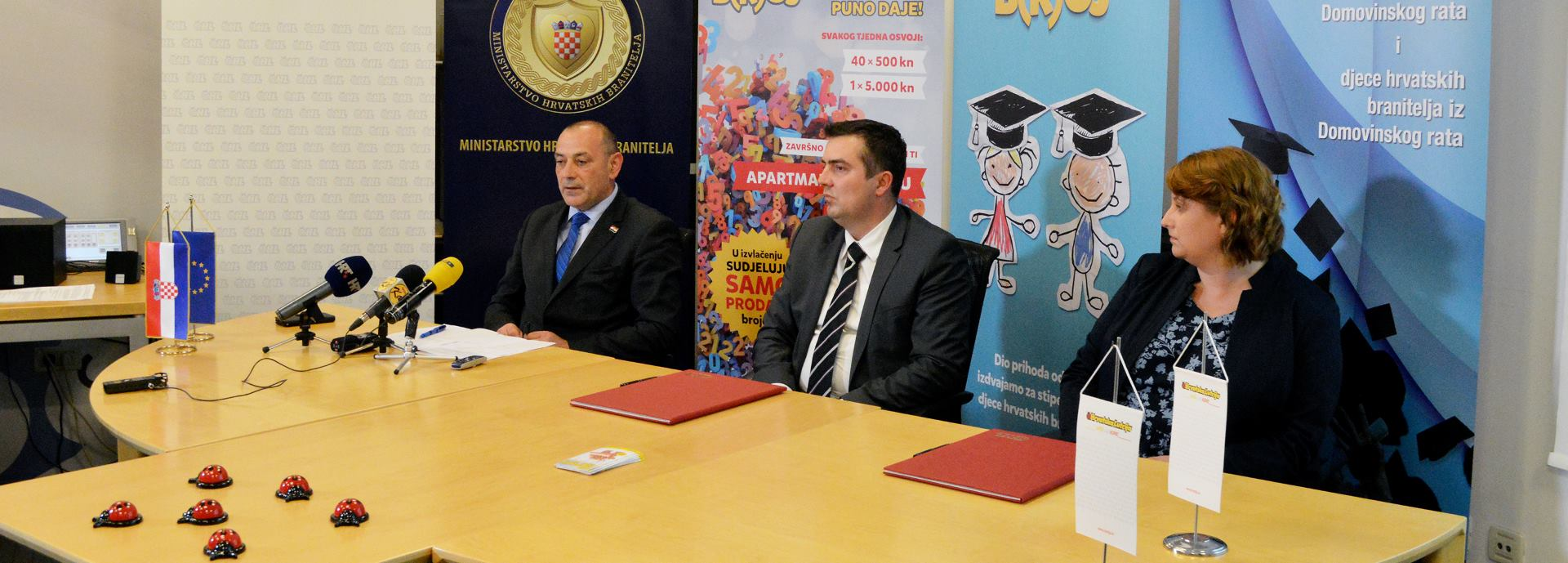 Hrvatska Lutrija potpisala Sporazum o suradnji s Fondom za stipendiranje hrvatskih branitelja i djece branitelja iz Domovinskog rata