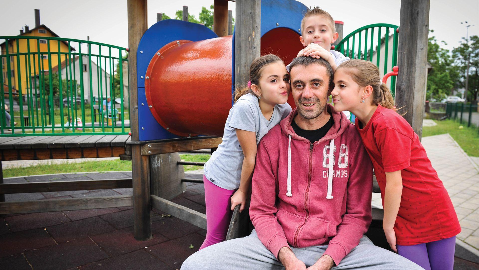 ZANIMANJE: TATA 'Unatoč svim predrasudama, uživam u odgoju svoje djece'