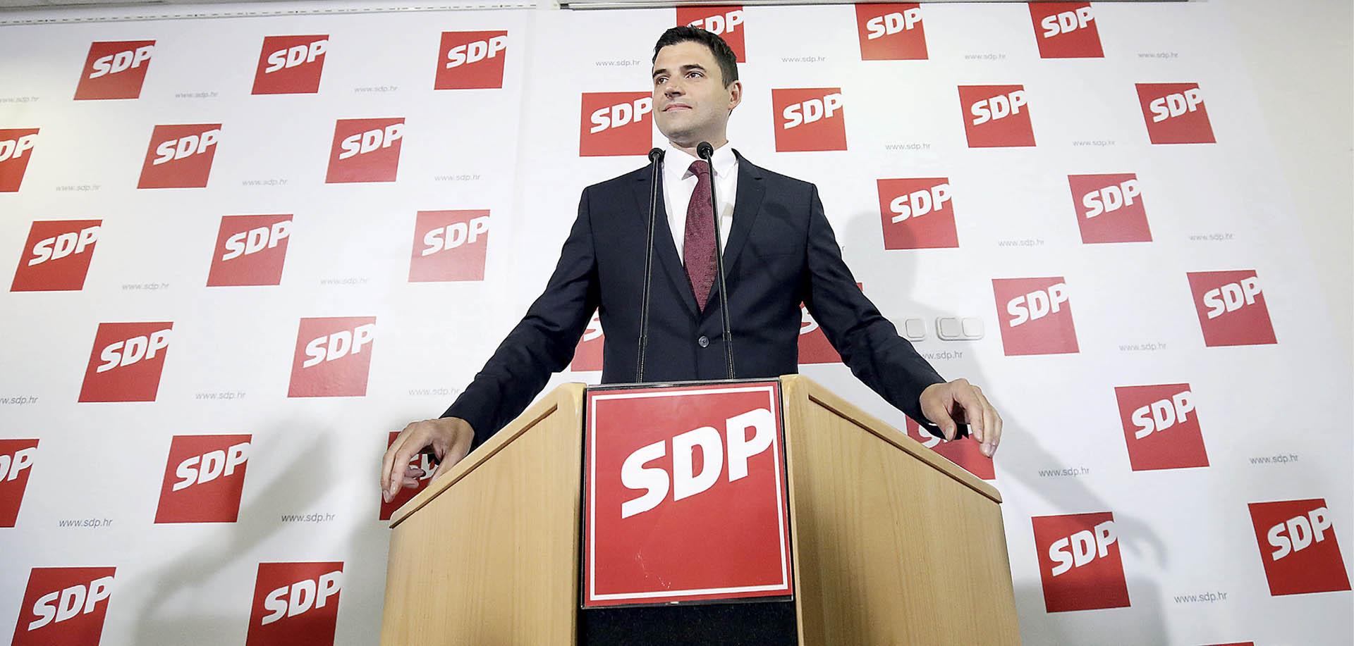 BERNARDIĆ 'SDP-ovi kandidati moraju biti tri puta bolji da bi dobivali jednako veliko povjerenje'