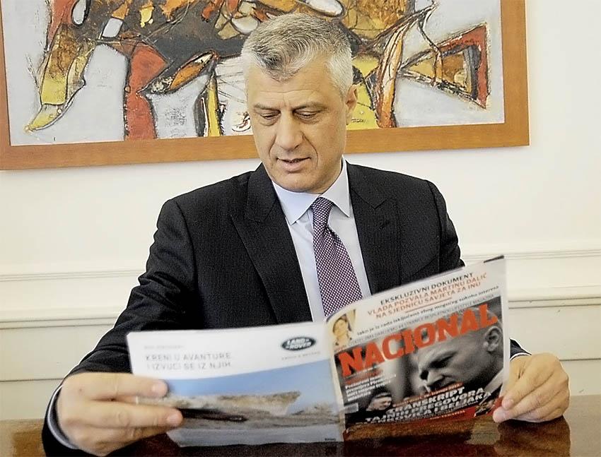 INTERVJU Hashim Thaçi: 'Propaganda o 'velikoj Albaniji' dolazi iz Beograda'