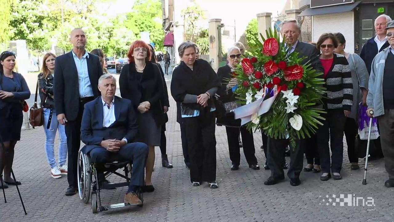VIDEO: Na Trgu svibanjskih žrtava obilježena 22. godišnjica raketiranja Zagreba