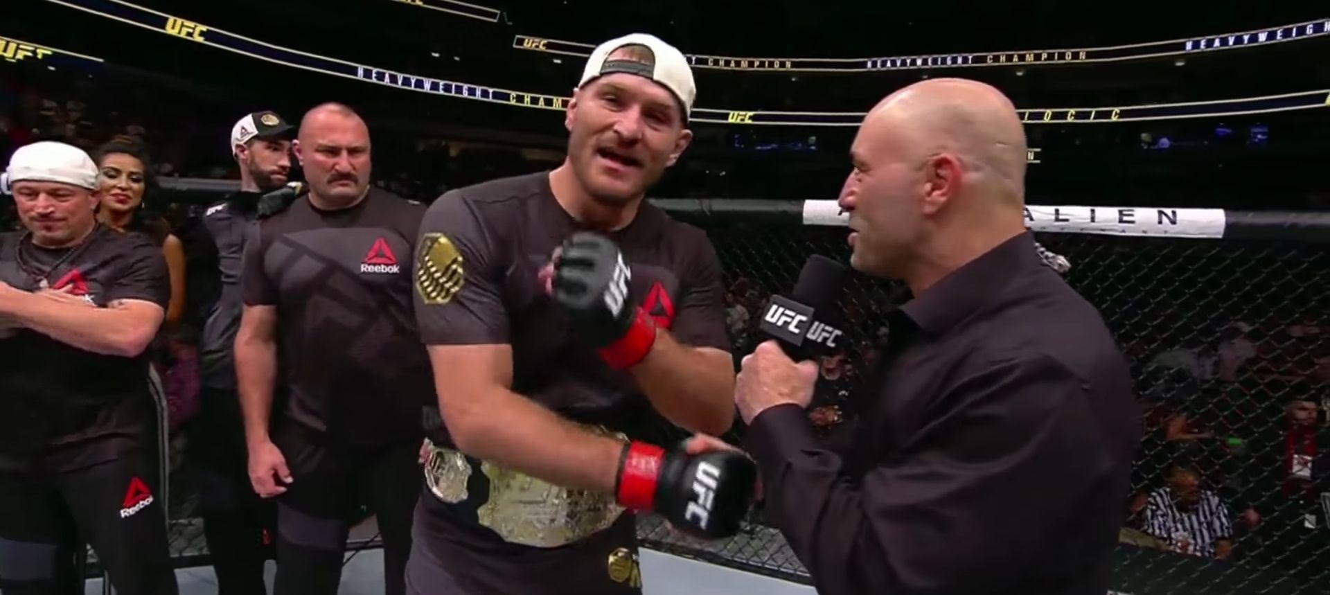 VIDEO: OBRANIO NASLOV UFC PRVAKA Povijesna pobjeda Stipe Miočića