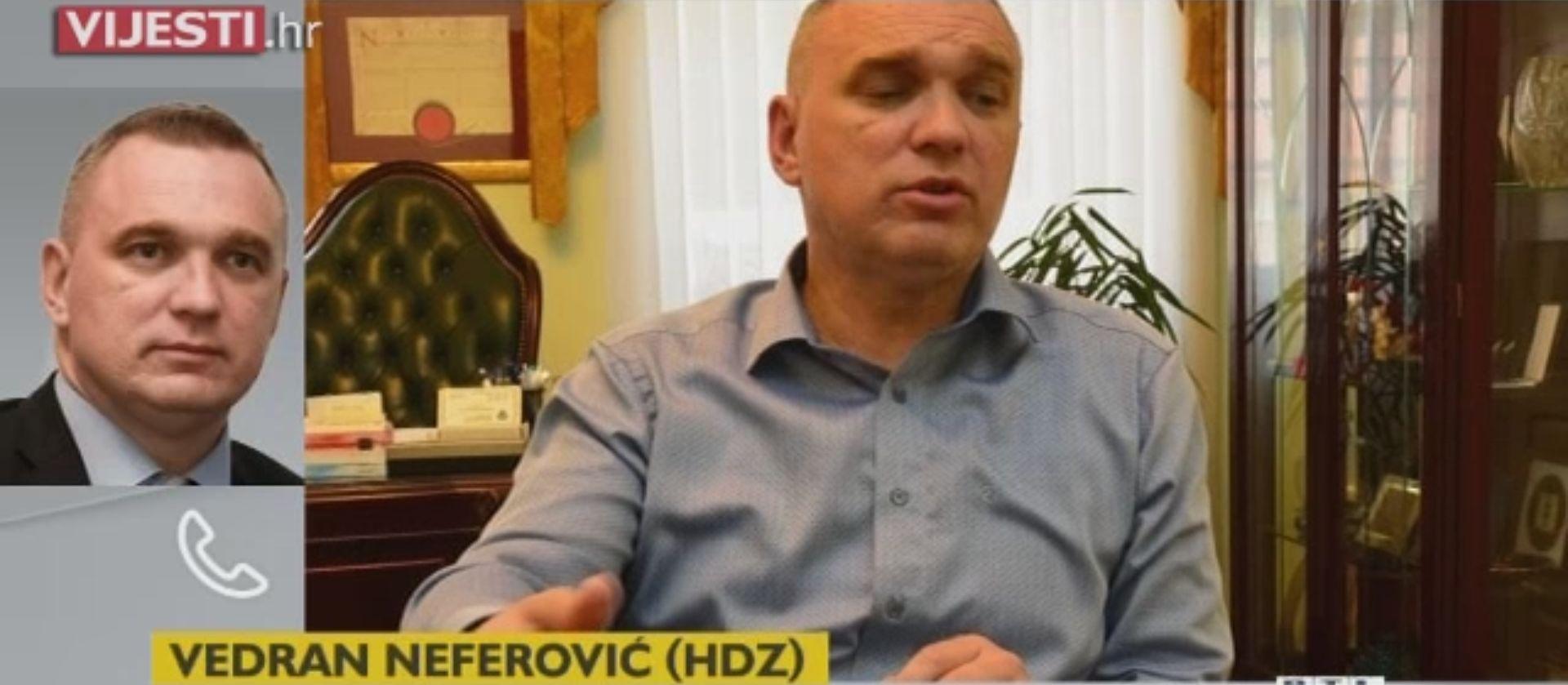 Neferović se odbio ispričati novinaru kojeg je napao