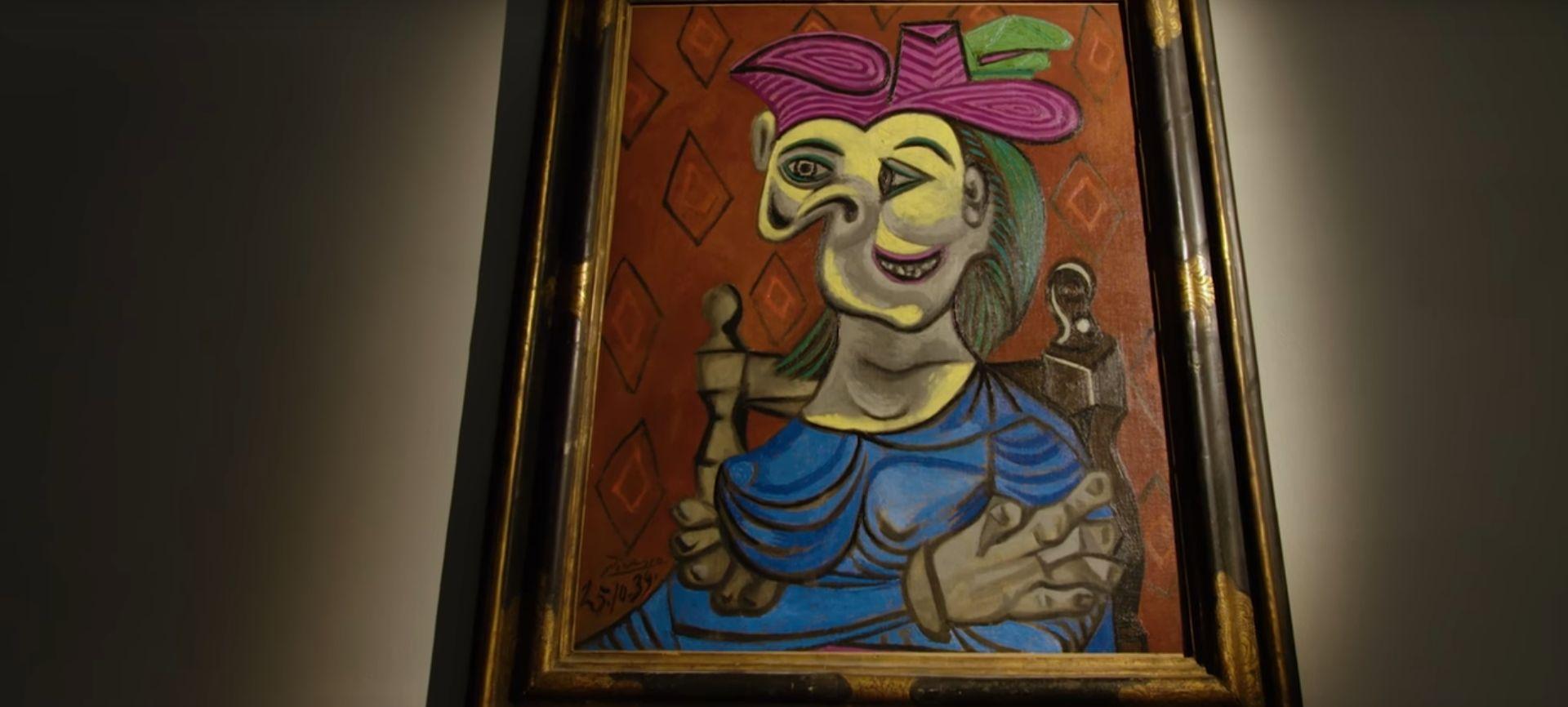 Picassova 'Žena koja sjedi u plavoj haljini' na aukciji prodana za 45 milijuna dolara