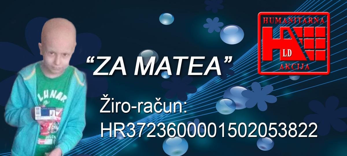 Humanitarna akcija za Matea Mavrića