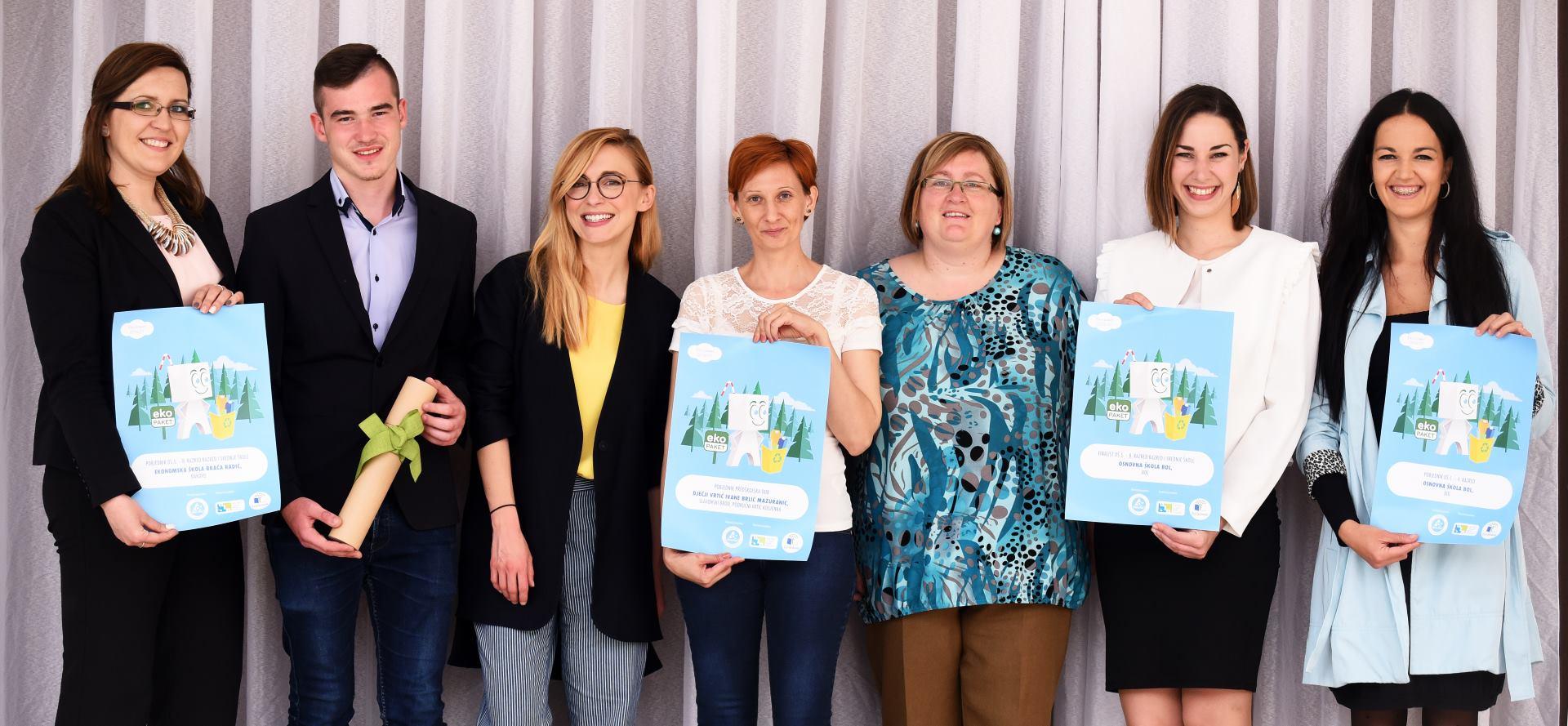 FOTO: Proglašeni pobjednici natječaja u sklopu projekta Eko-paket