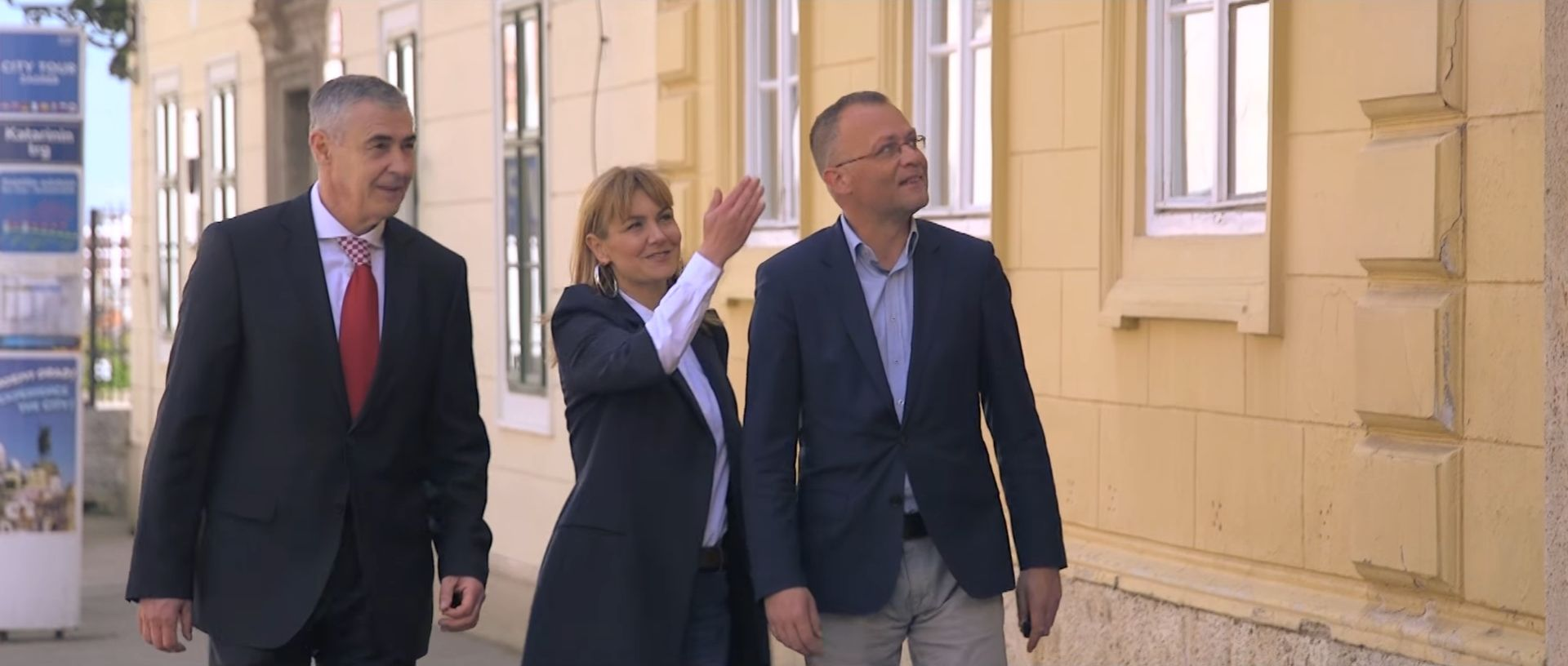 VIDEO: ZAGREB Esih, Glasnović i Hasanbegović snimili predizborni spot