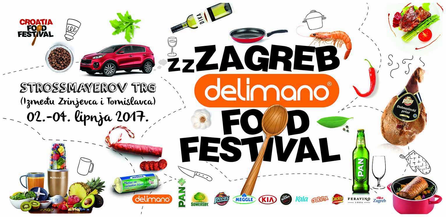 ZZZagreb Delimano Food Festival održava se od 2. do 4. lipnja