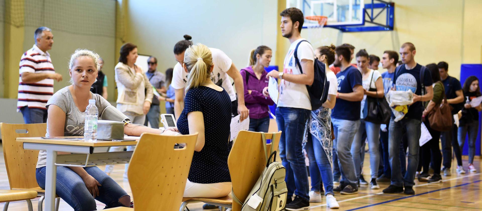 Više od 200 studenata saznalo kardiovaskularni rizik u sklopu projekta 'Čuvari srca'
