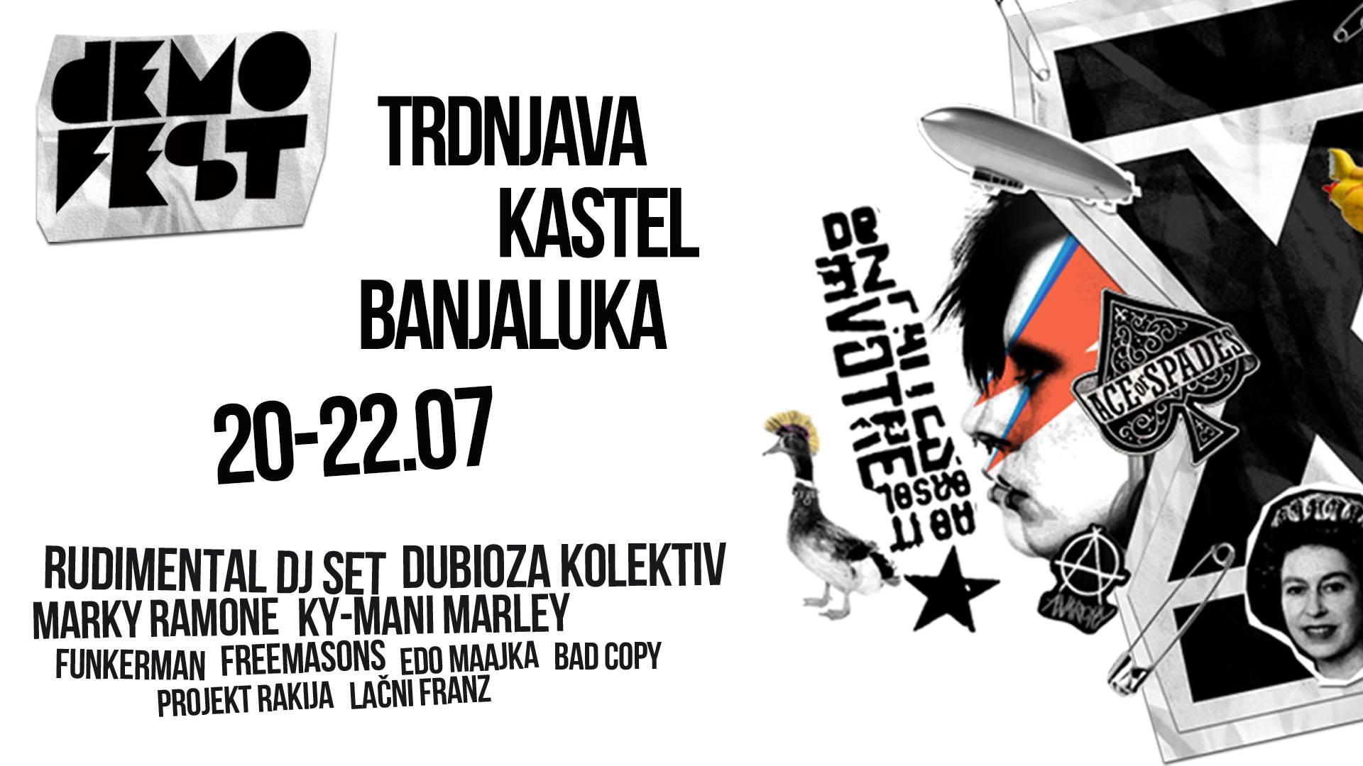 Demofest na listi najzanimljivijih festivala u Europi