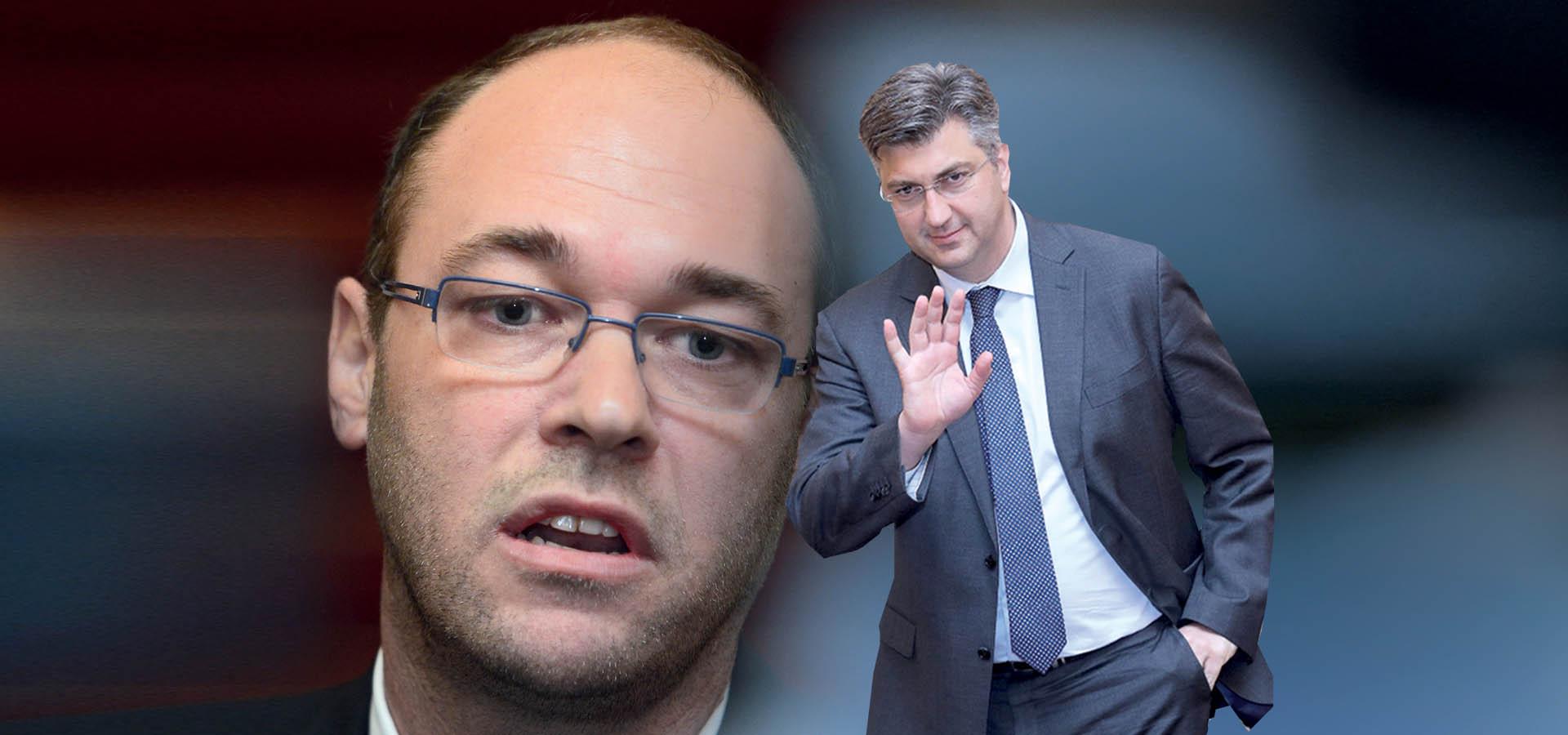 'STIER IZAZVAO PLENKOVIĆA, postaje lider oporbe unutar HDZ-a'