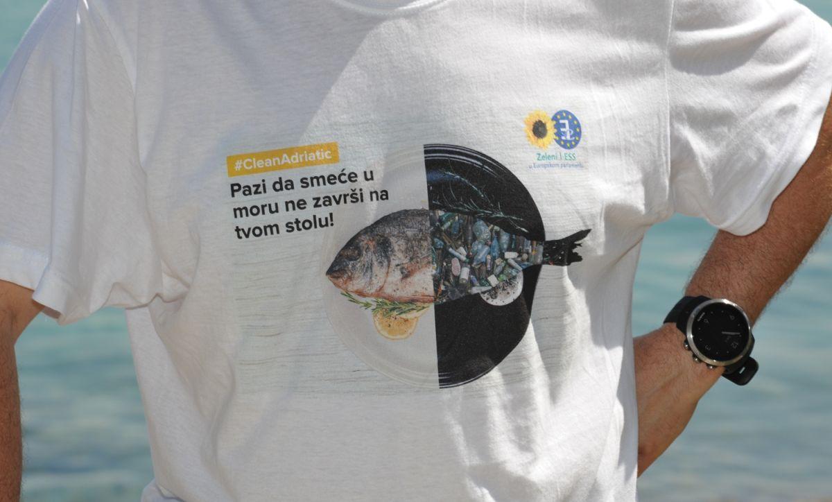 ŠKRLEC 'Akcijom čišćenja podmorja započela nacionalna kampanja protiv otpada u Jadranskom moru'