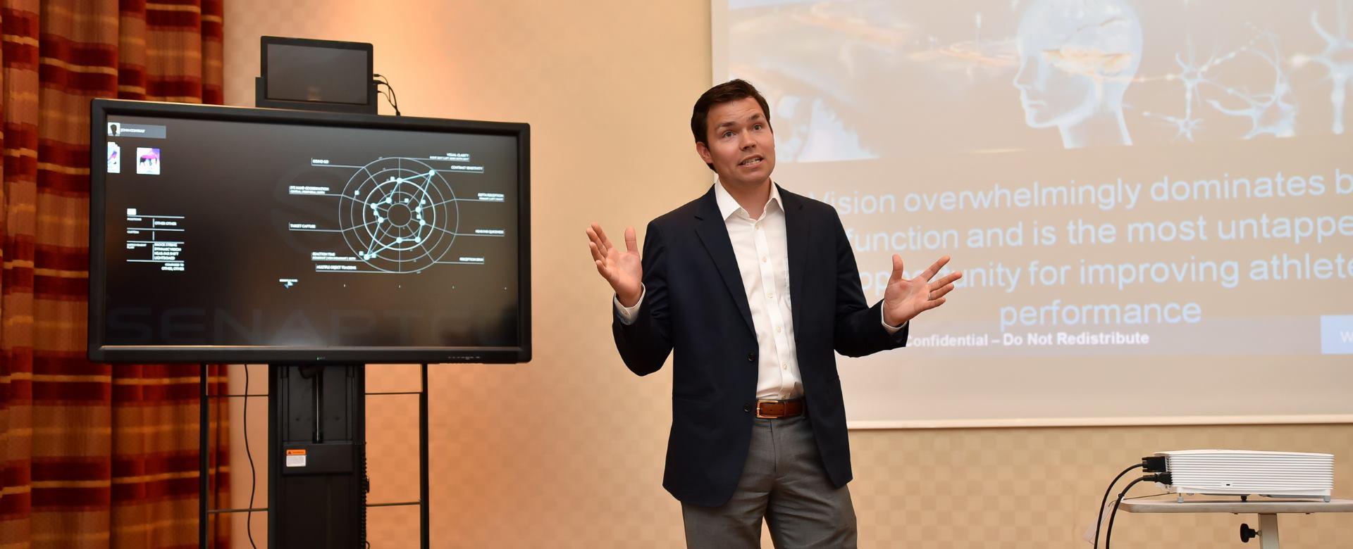 OPTICAL EXPRESS Hrvatski sportaši oduševljeni novom tehnologijom Vision Training Centra