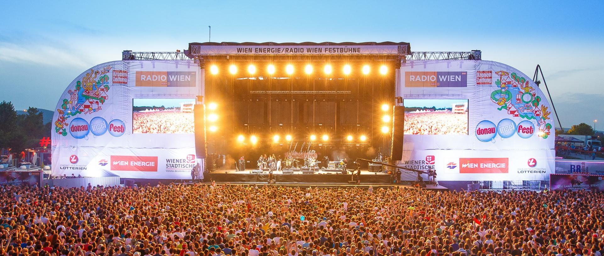 Poznati Donauinselfest se održava od 23. do 25. lipnja