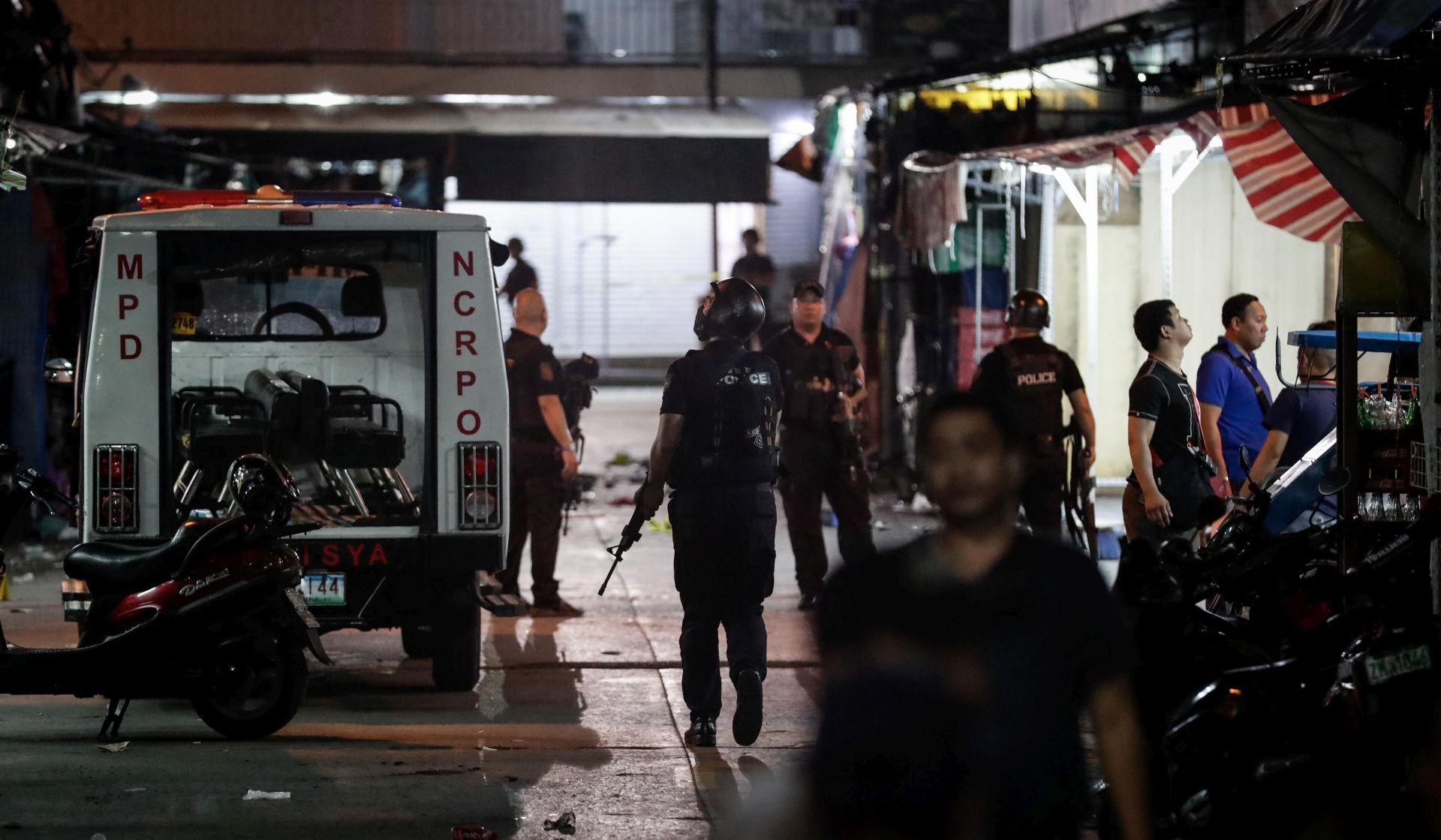Napadač na kockarnicu u Manili izvršio samoubojstvo
