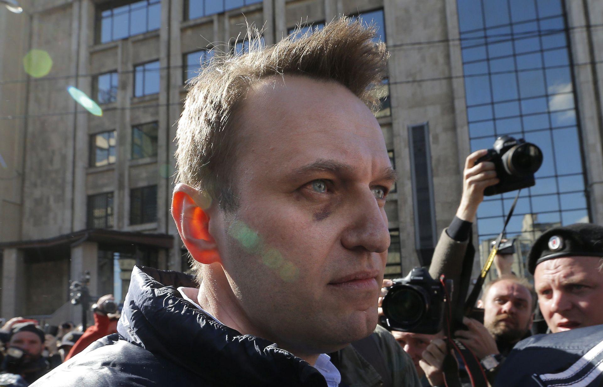 Lider ruske opozicije Navalny uhićen zbog prosvjeda