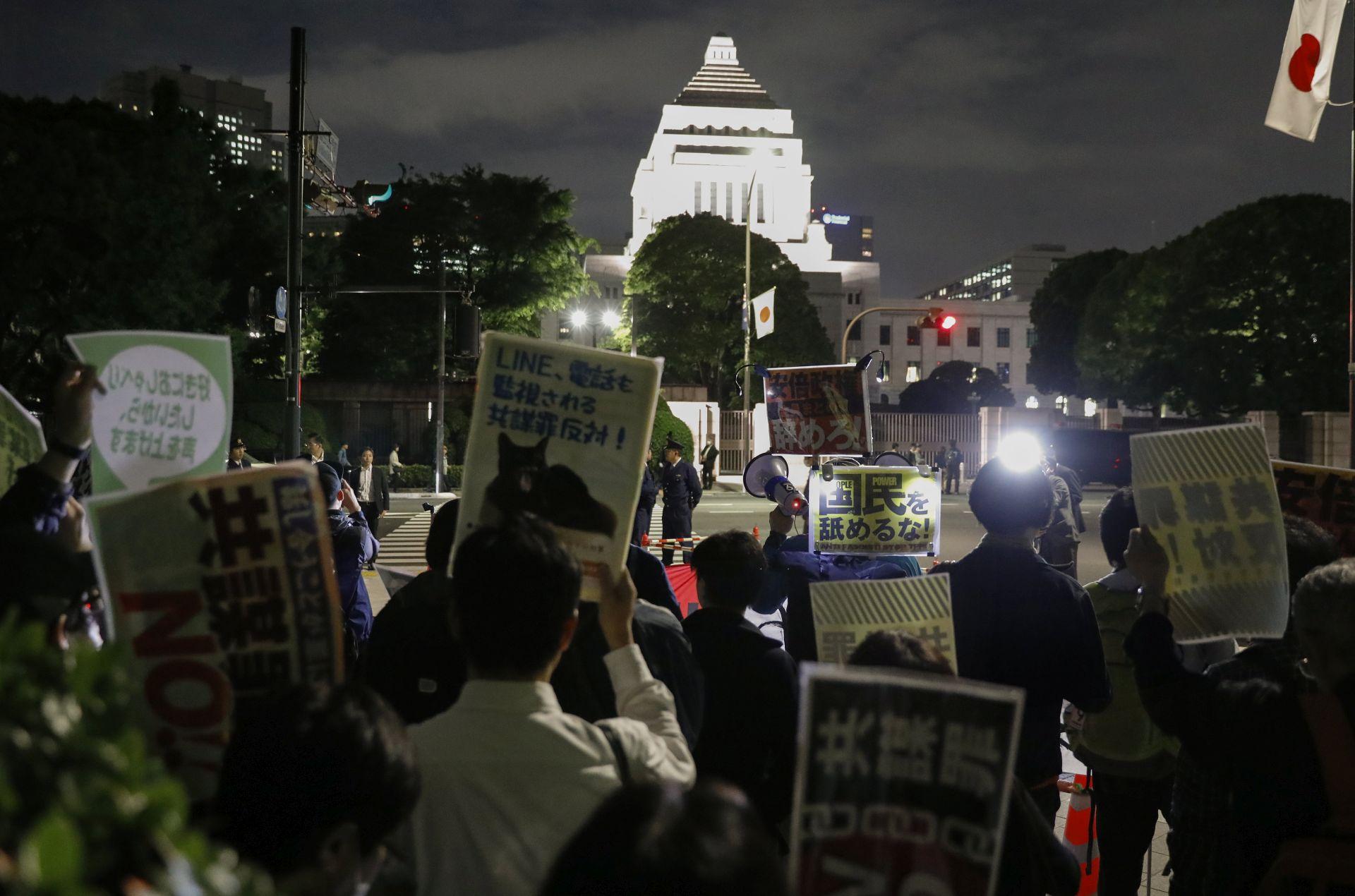 Japan usvojio kontroverzni protuteroristički zakon