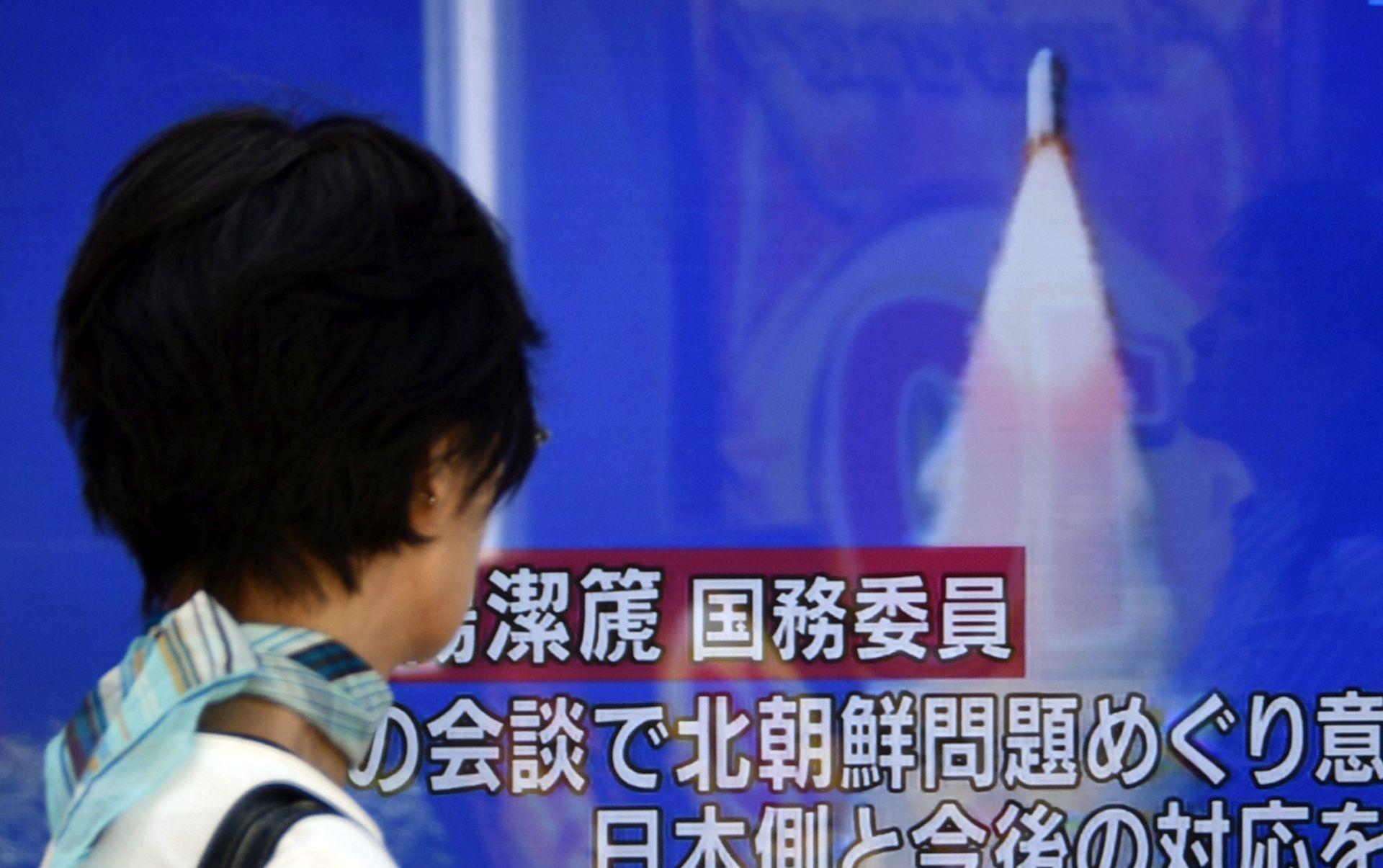 Sjeverna Koreja tvrdi da je ispalila novi tip projektila
