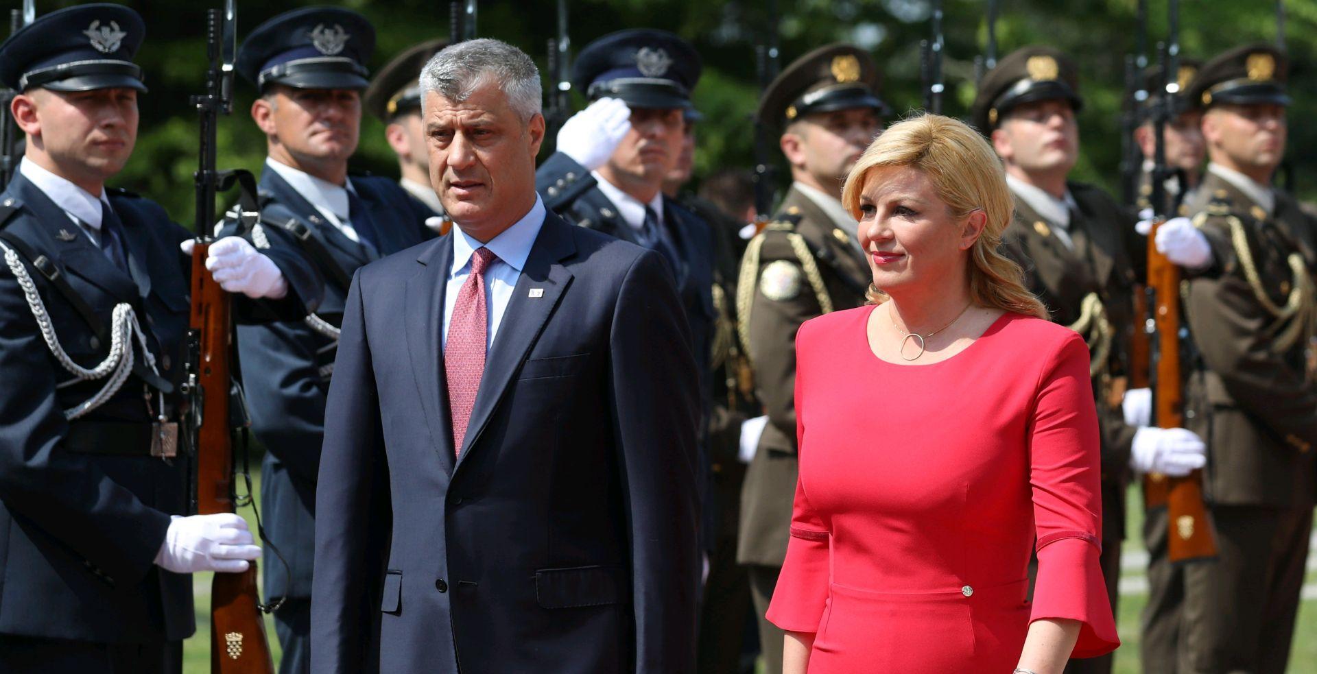 UZ SAD I NATO Thaci očekuje formiranje vojske Kosova do kraja godine