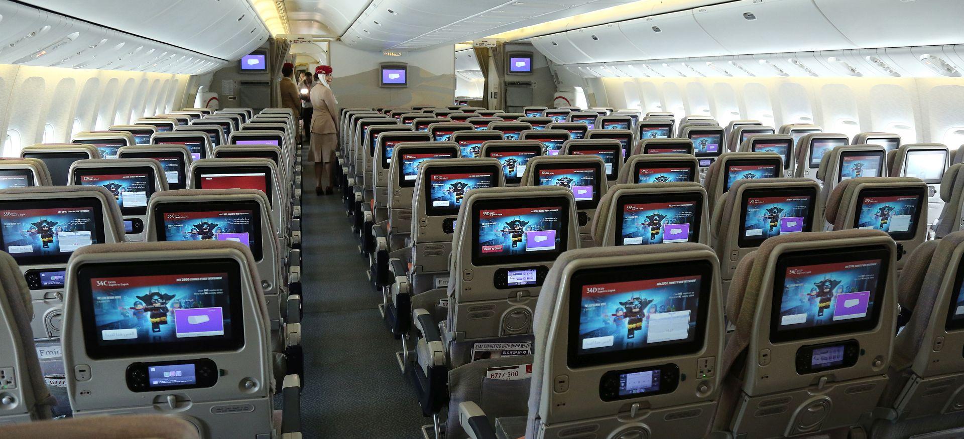 Prvi zrakoplov Emiratesa uspješno sletio u Zagreb