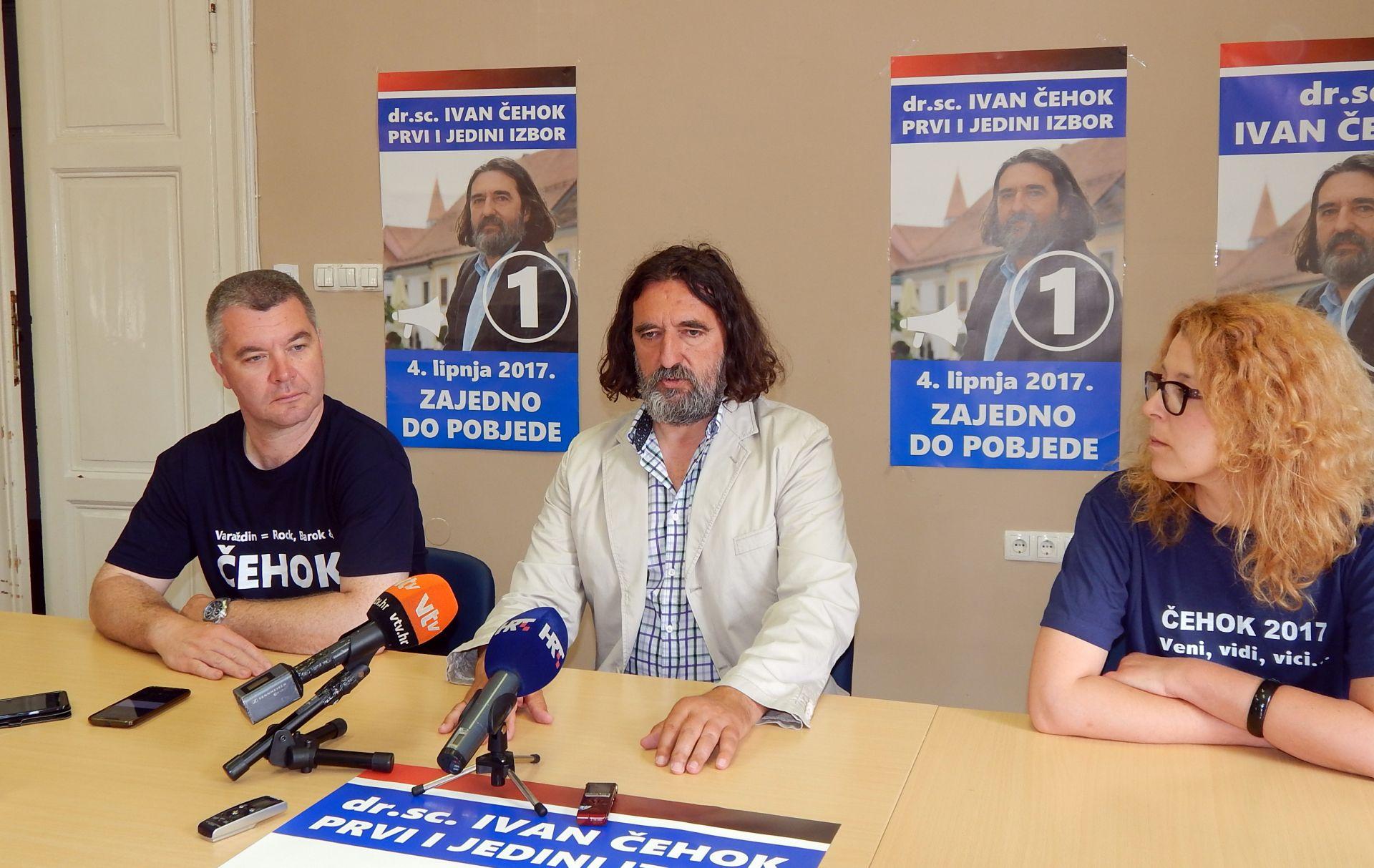 Čehok očekuje premoćnu pobjedu na izborima za gradonačelnika Varaždina