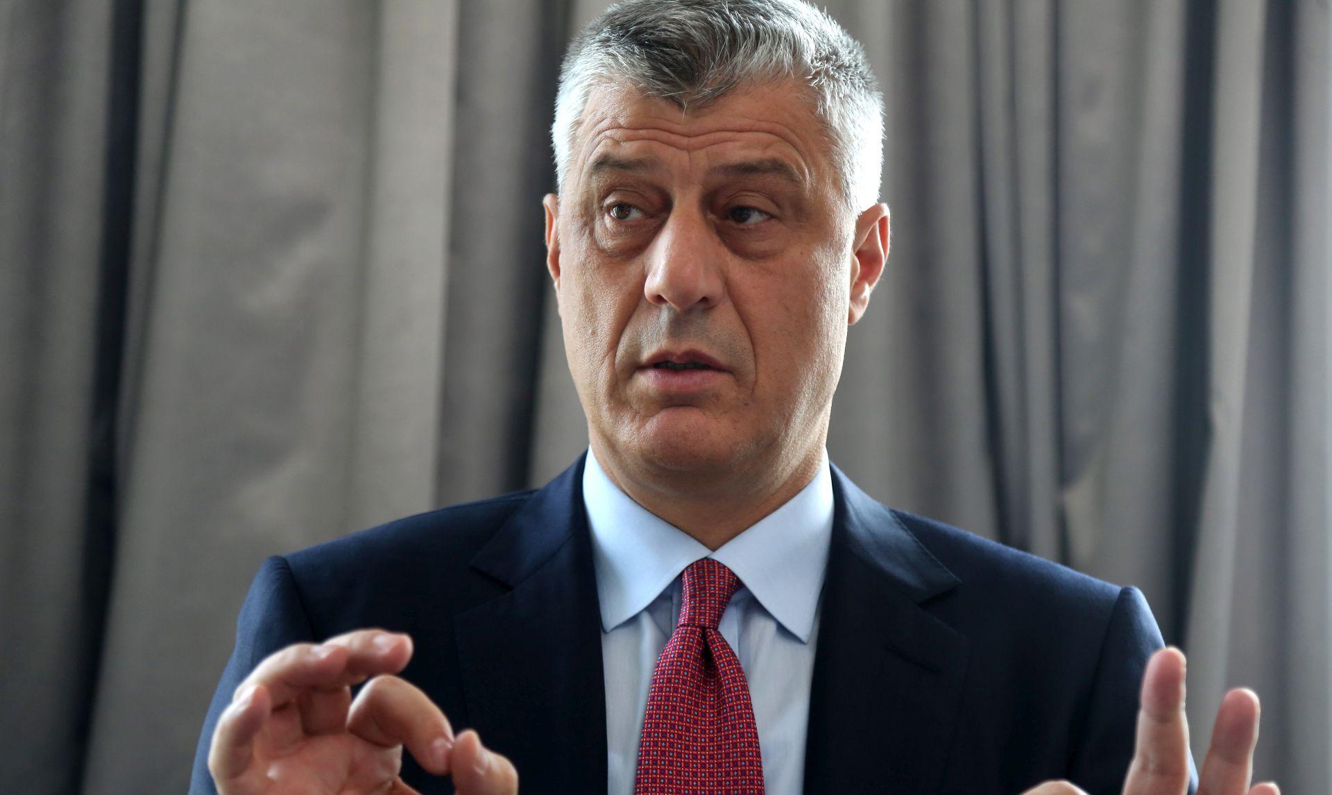 """Thaci najavio da će oružane snage Kosova imati """"više od 10 posto"""" Srba"""