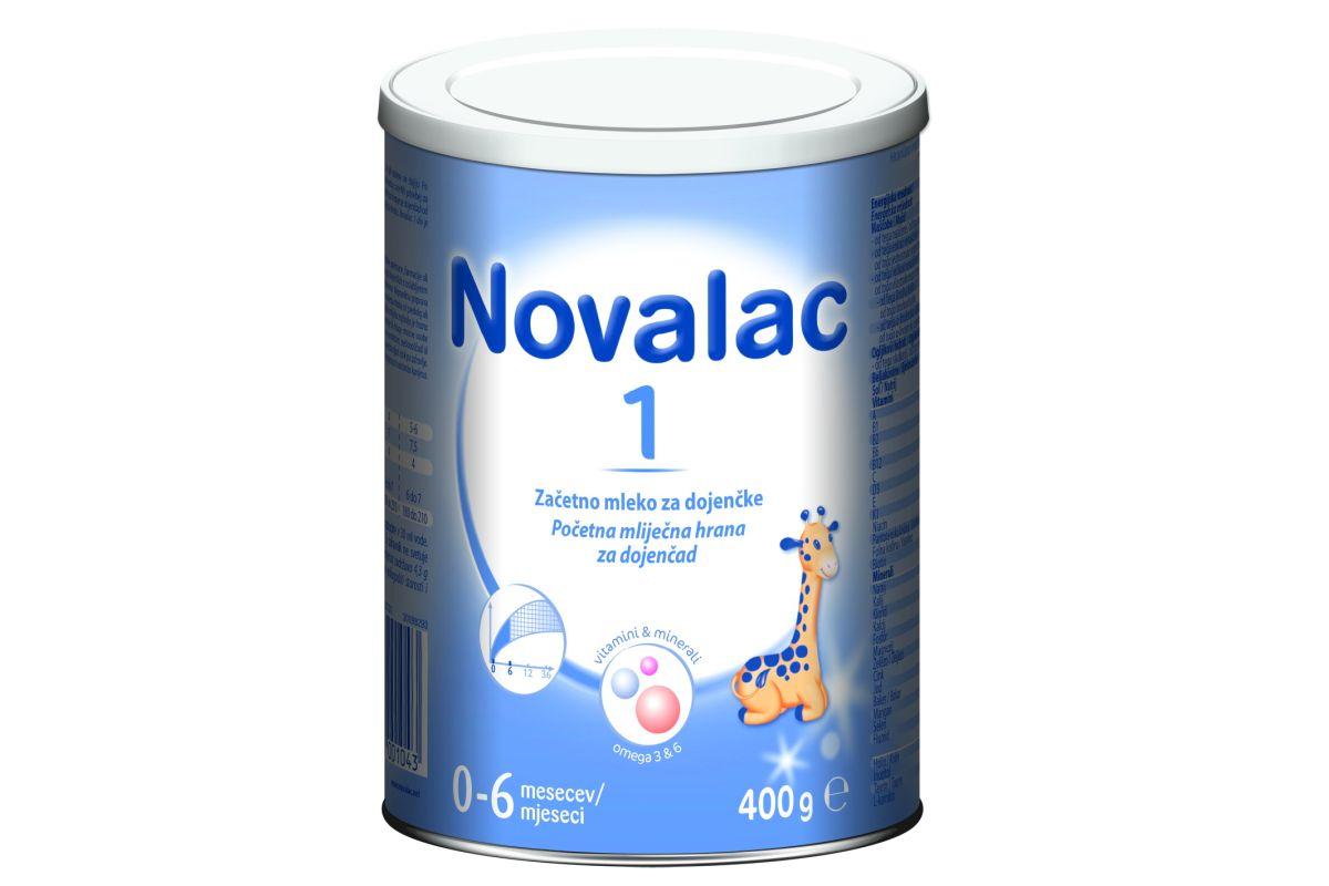 S tržišta se povlači mliječna hrana za dojenčad Novalac CC i Novalac 1